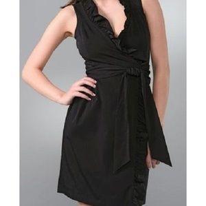 Diane Von Furstenburg 14 Andrea Ruffle Wrap Dress